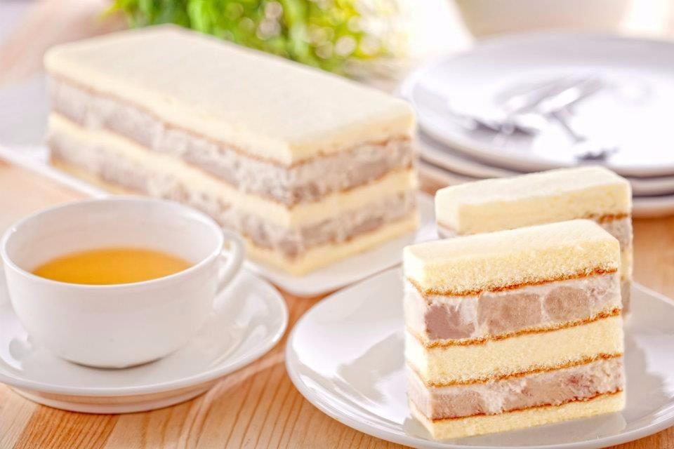 真芋頭蛋糕。(圖片來源/不二家FB粉絲團)
