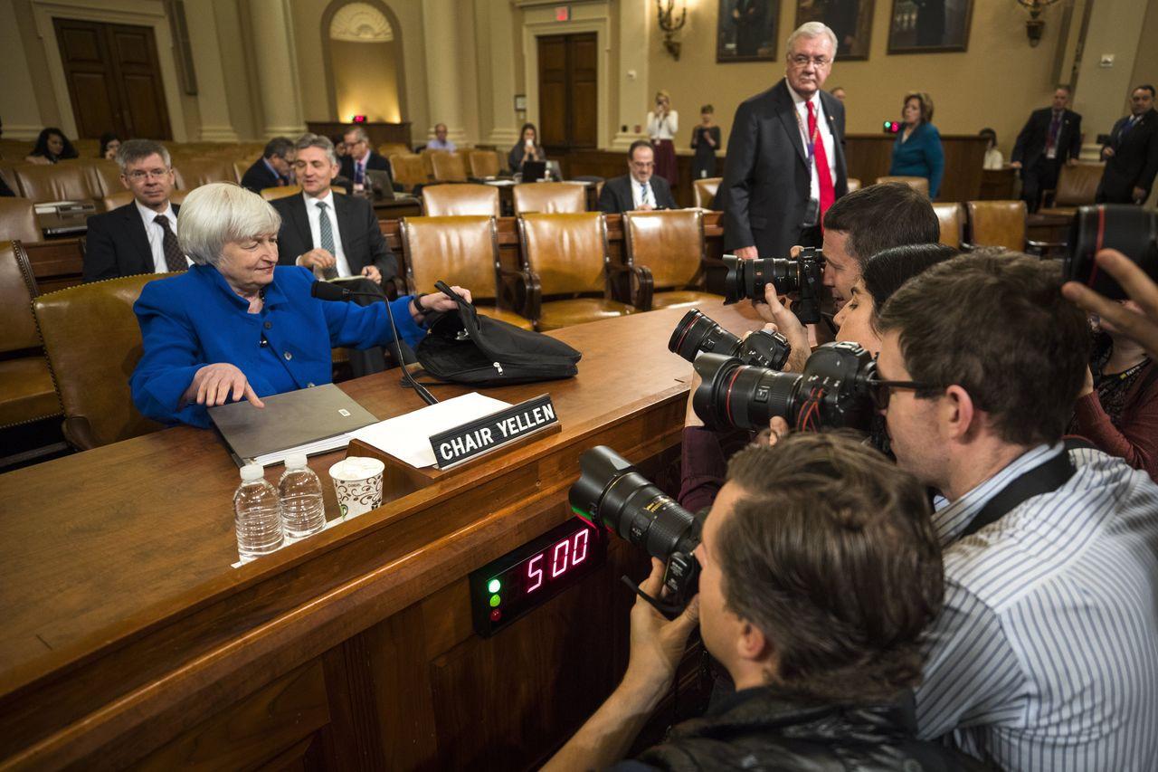 聯準會(Fed)主席葉倫昨天完成她國會最後一次作證。(歐新社)