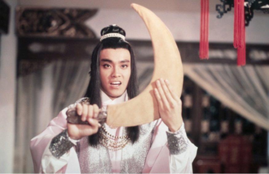 爾冬陞是「圓月彎刀」中的帥氣俠士。圖/摘自Celestial Pictures
