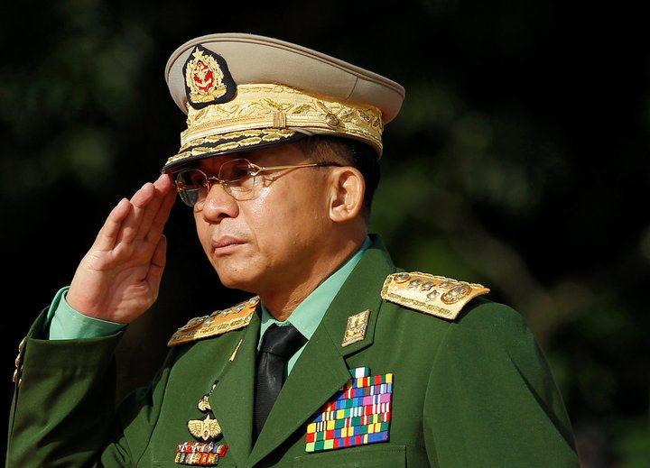 緬甸國防軍總司令敏昂萊可能角逐2020年總統大位。路透