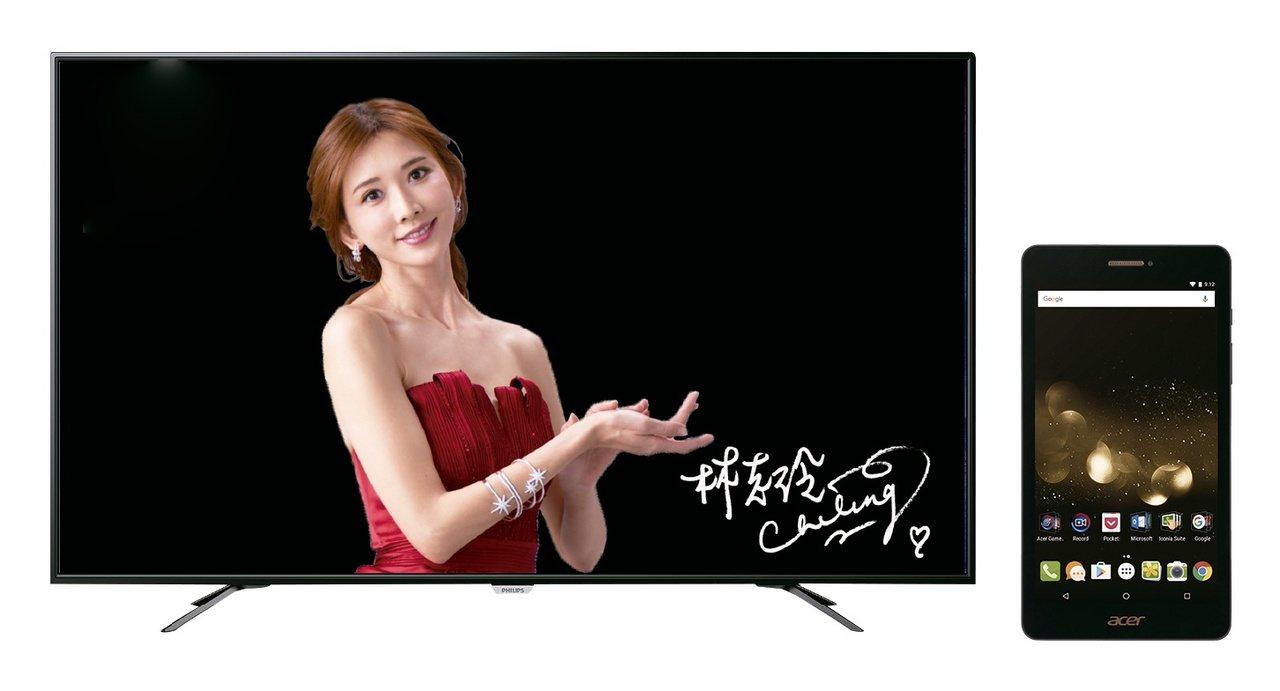 PHILIPS 55型4K LED低藍光智慧電視(55PUH605296)會員價...