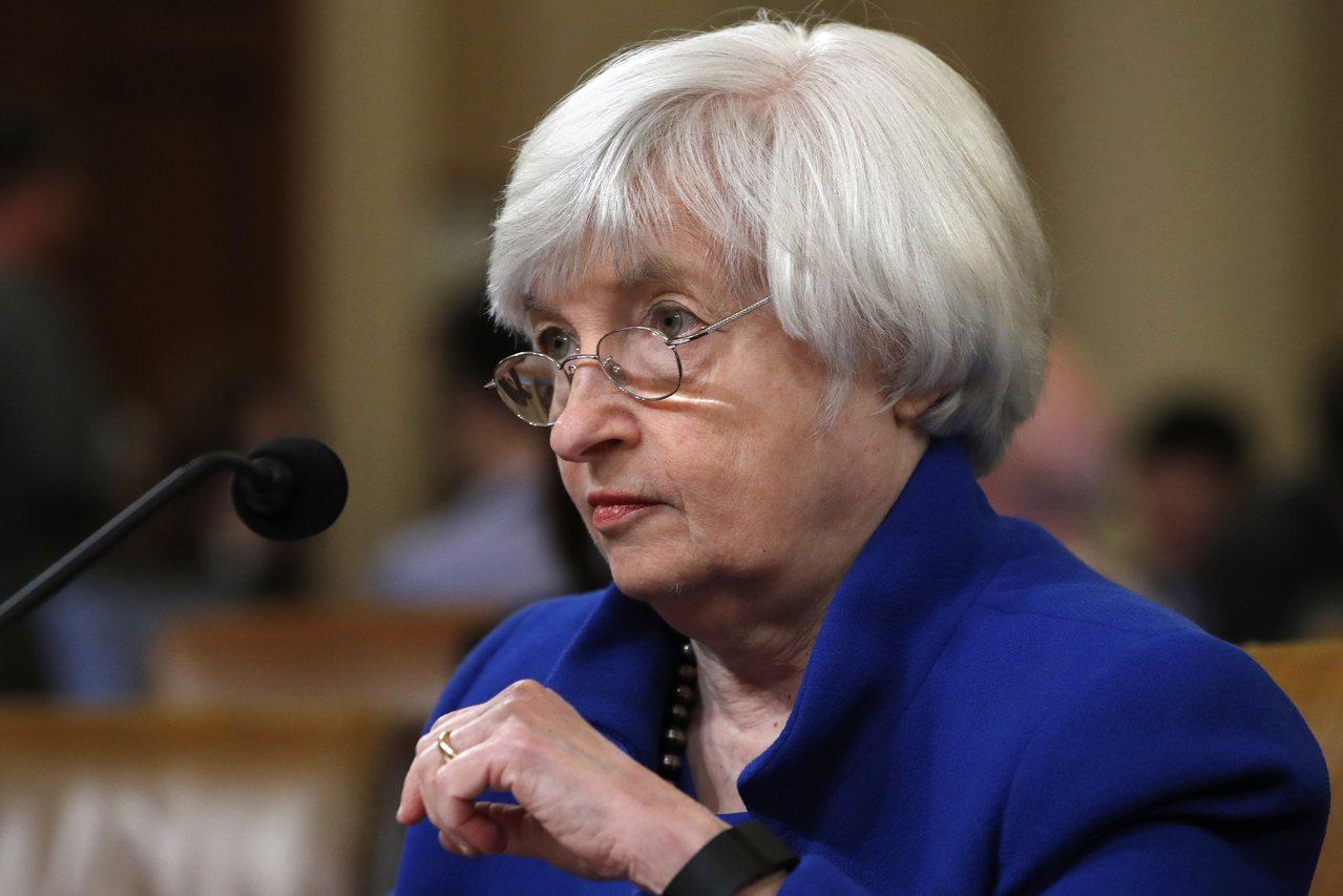 Fed主席葉倫表示,如果稅改帶來的經濟成長是對的方式,央行將表歡迎與支持。(美聯...
