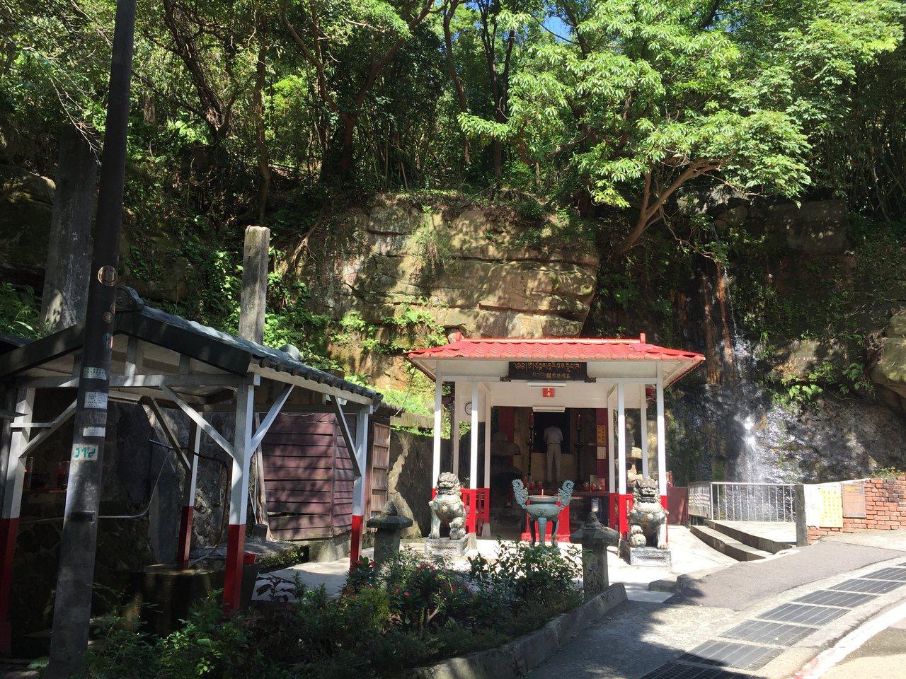 不動明王石窟。圖/台北市文化局提供