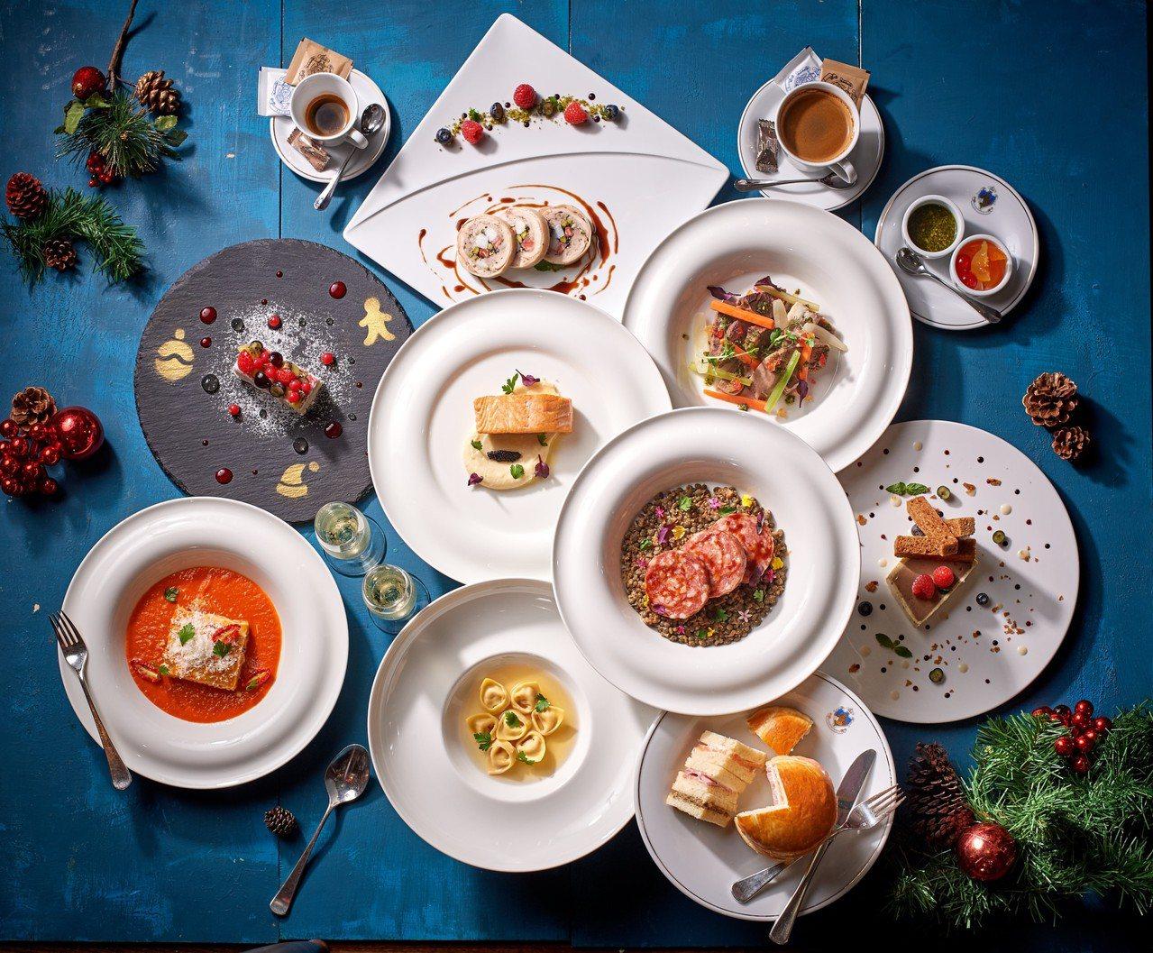 Caffe Florian福里安花神咖啡「義式豪華耶誕節雙人套餐」售價4,500...