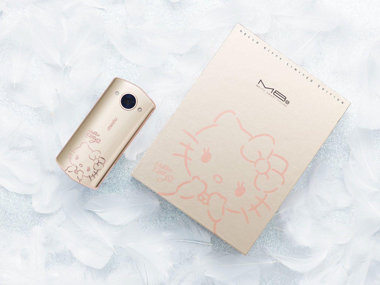 美圖M8s第5代Hello Kitty限量版12月4日至12月8日在momo購物...