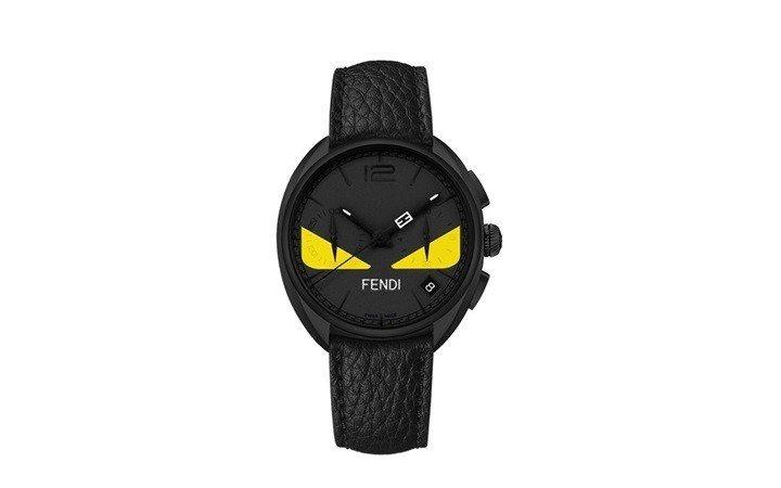 蔡凡熙配戴的Momento Fendi Bugs手表,53,000元。圖/Fen...