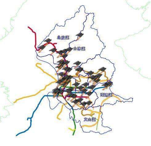 勞動部推動「職災地圖」。 圖/截自北市勞動部官網