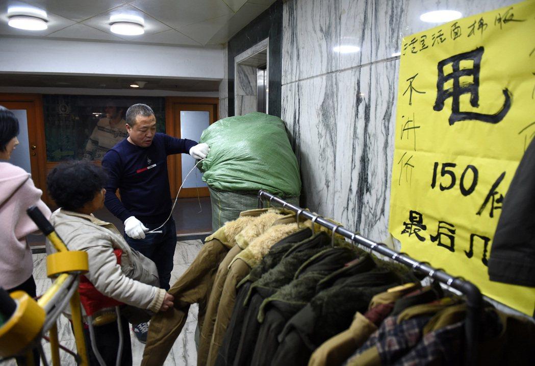 京整治「大城市病」,動批市場成歷史。 新華社