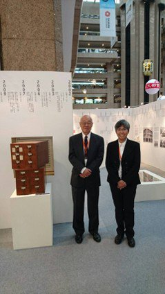 臺灣商務印書館王春申董事長和高珊副總經理。 圖/臺灣商務印書館提供