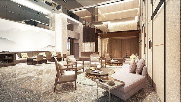 公設-Lounge示意 【圖/世中心提供】