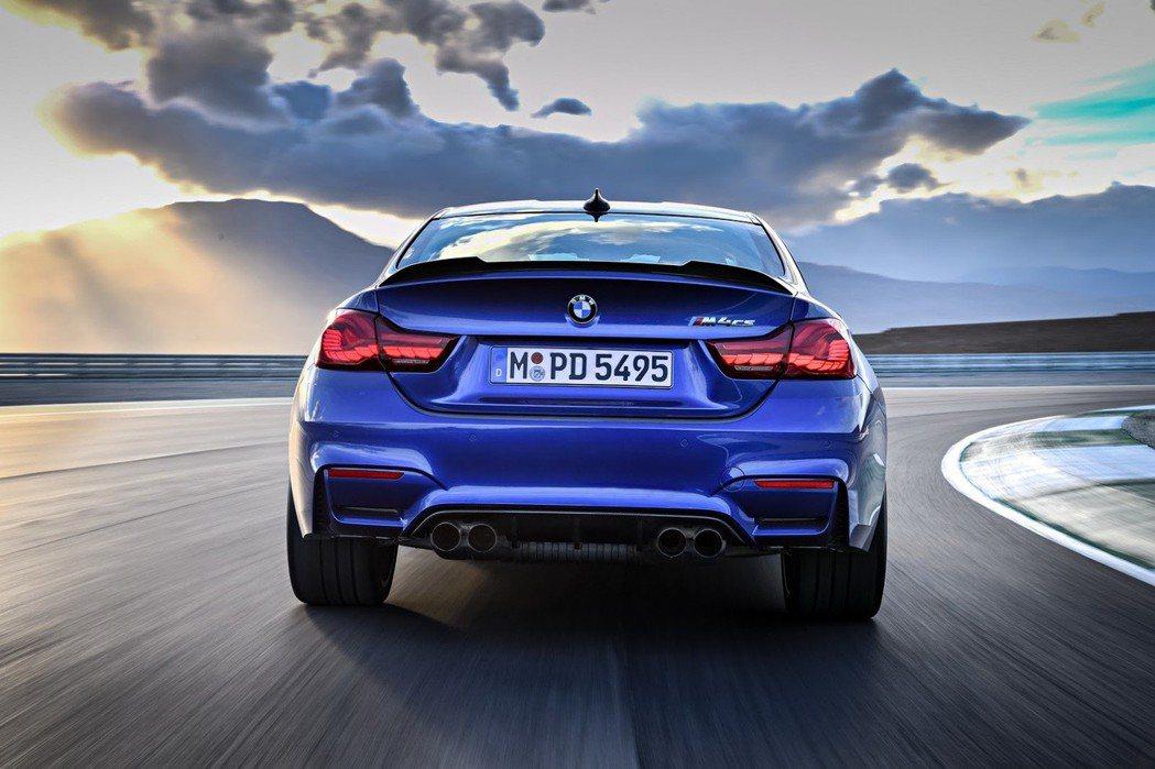 圖為BMW M4 CS。 摘自BMW