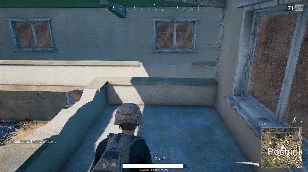 怪怪屋兩棟彼此可以從陽台互通