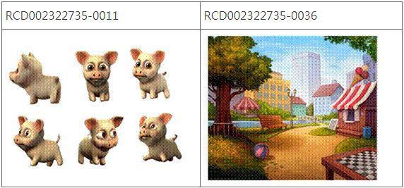 圖2 Pet Rescue Saga遊戲的圖形介面及動畫圖像之設計