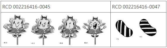 圖6 King.com公司Candy Crush遊戲中的動畫圖像
