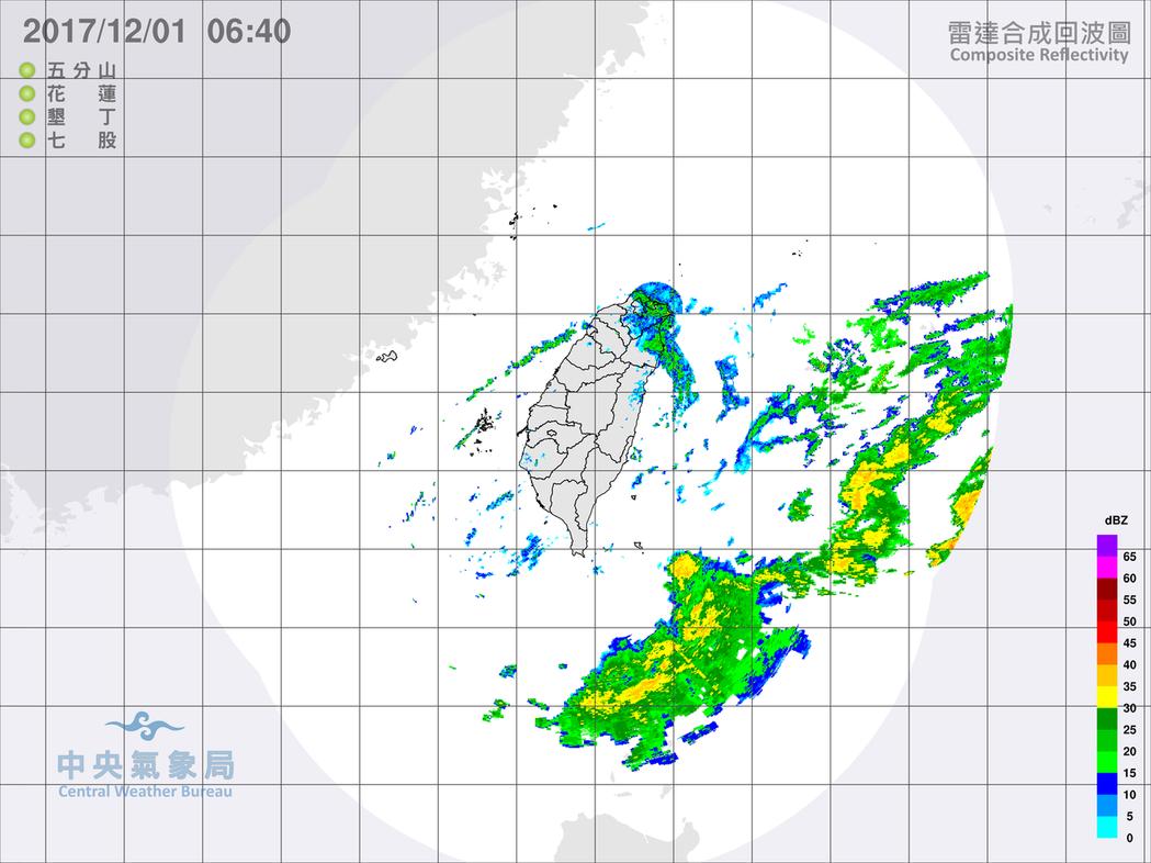 中央氣象局發布豪雨特報,東北季風影響,今天宜蘭地區及基隆北海岸有局部大雨或豪雨發...