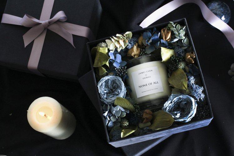 JAMEI CHEN X STORIES於冬日耶誕市集推出多款禮盒。圖/JAME...