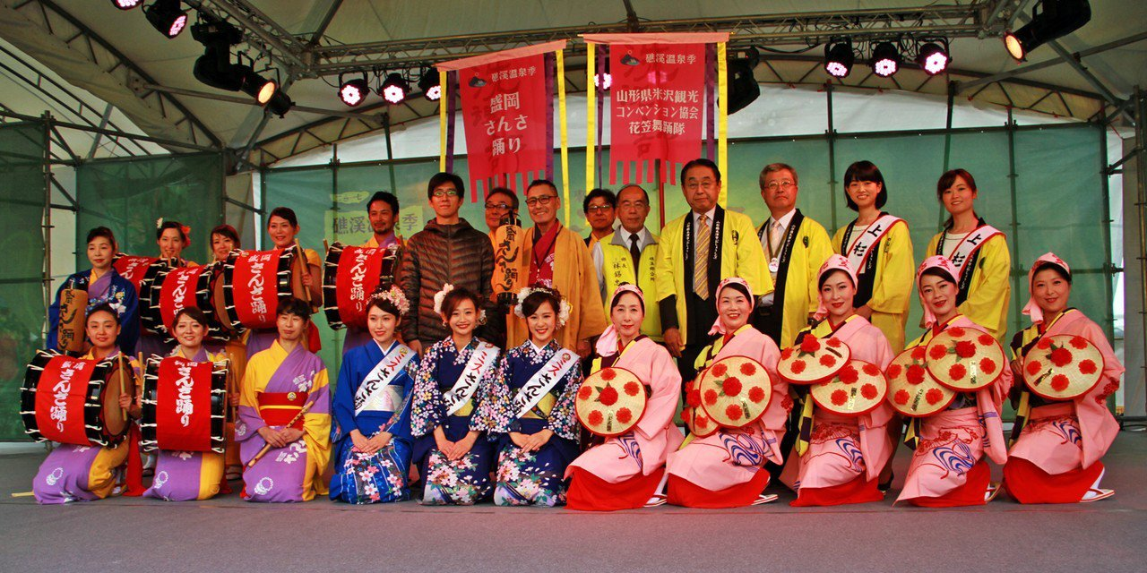 2017礁溪溫泉季,日本舞者來台共襄盛舉。 記者羅建旺/攝影