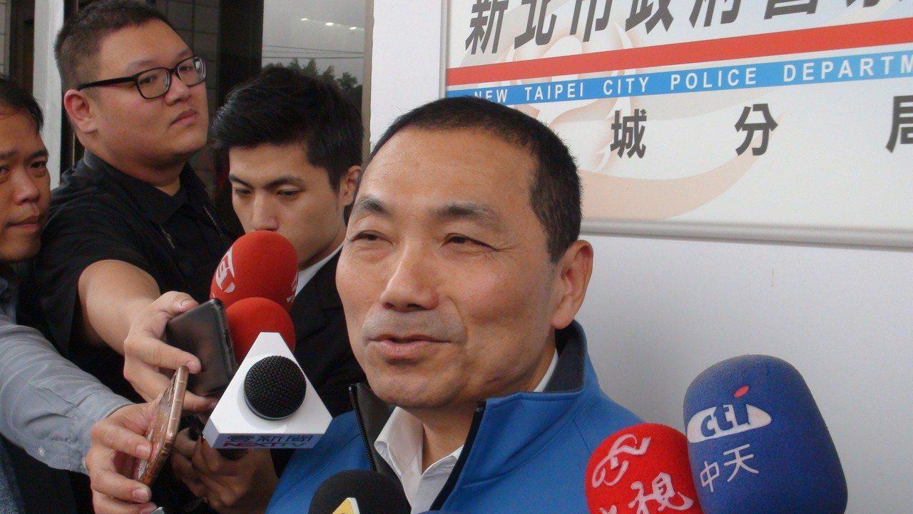 新北市副市長侯友宜。 記者王長鼎/攝影