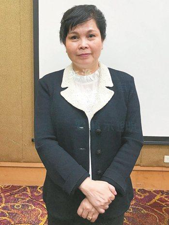 健永生技董事長郭富鳳。 記者黃文奇/攝影