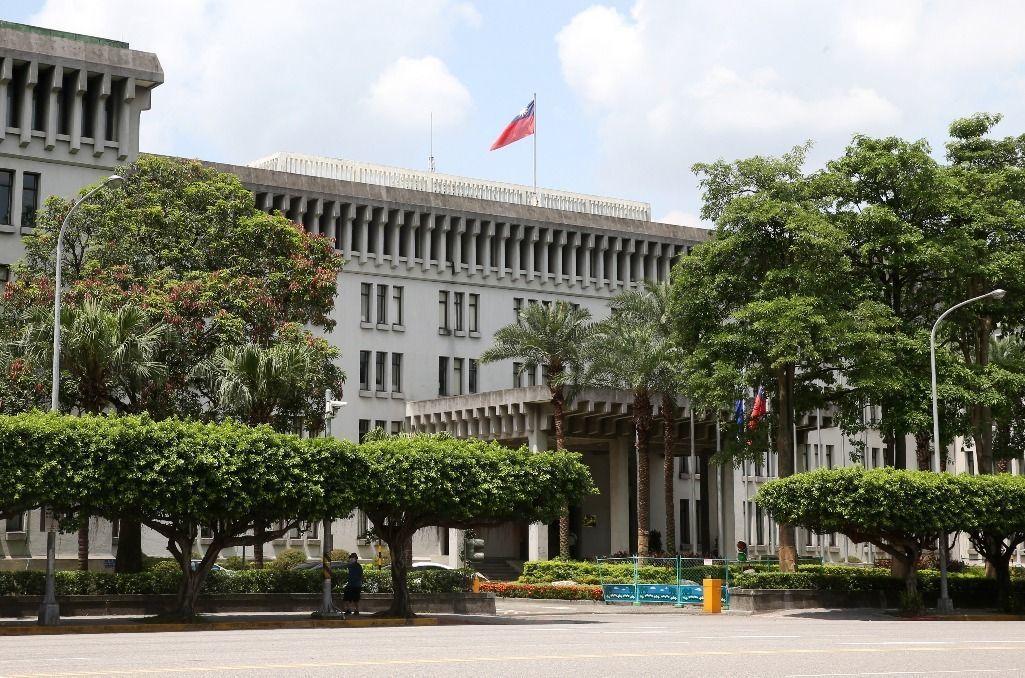 圖為中華民國外交部。 圖/報系資料照片