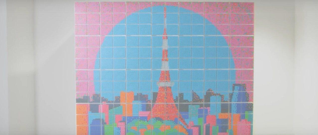 無印良品打造TOKYO PEN PIXEL。圖/擷取自官網影片