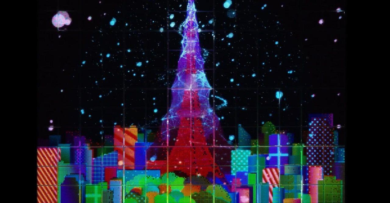 應景的耶誕樹風格。圖/擷取自官網影片