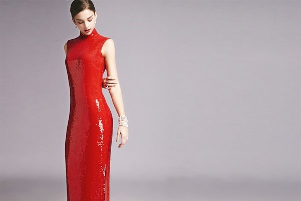 Blanc De Chine源的高級訂製旗袍。圖/台北文華東方酒店提供