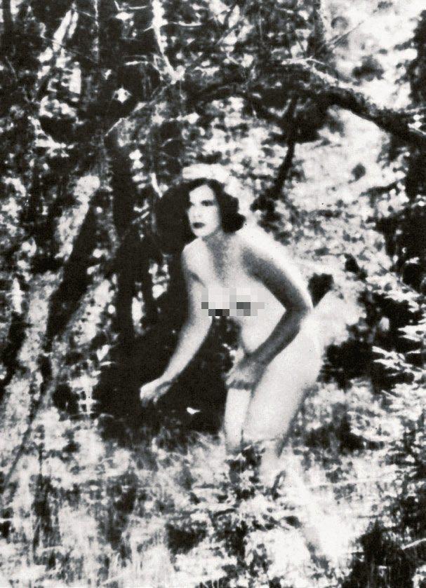 海蒂拉瑪在「慾燄」的裸露鏡頭,引起騷動。圖/摘自twitter