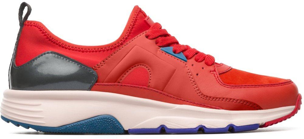 Camper Drift系列紅色休閒運動鞋,7,880元。圖/喜事國際提供