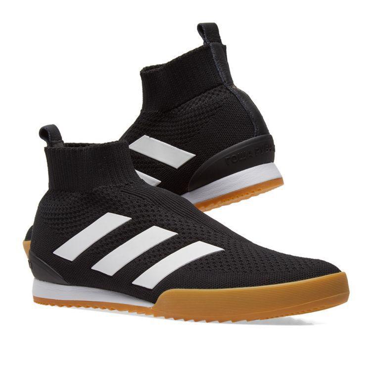 Gosha Rubchinskiy × adidas聯名黑色休閒鞋,11,800...