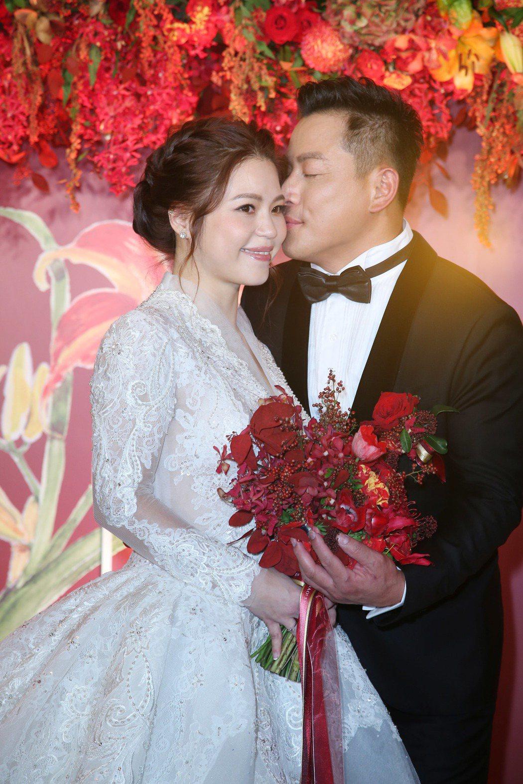 江宏恩與Vanessa舉辦婚禮。記者陳瑞源/攝影