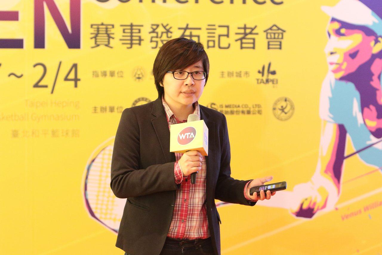 台灣公開賽執行長楊蕙如。圖/大會提供