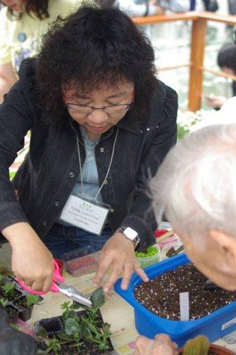 在香港有一處「療癒系」花園,專門提供予失能、失智長者。 記者黃威彬/攝影 ...