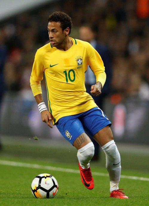 冠軍兩大熱門,巴西隊。 報系資料照