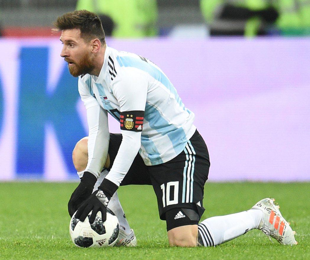 變數最大小組,阿根廷梅西得小心了。 報系資料照