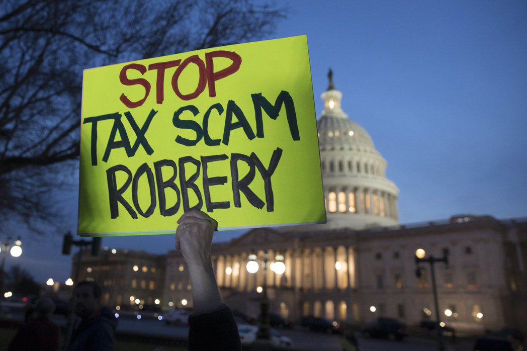 參院通過稅改 歐巴馬健保受重挫 歐新社