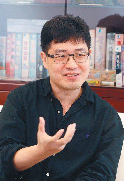 大宇資總經理蔡明宏。 報系資料照