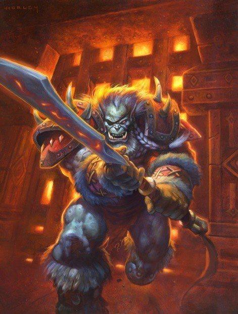 雷德.黑手的父親曾為古爾丹鑄造迦羅娜的雙刀