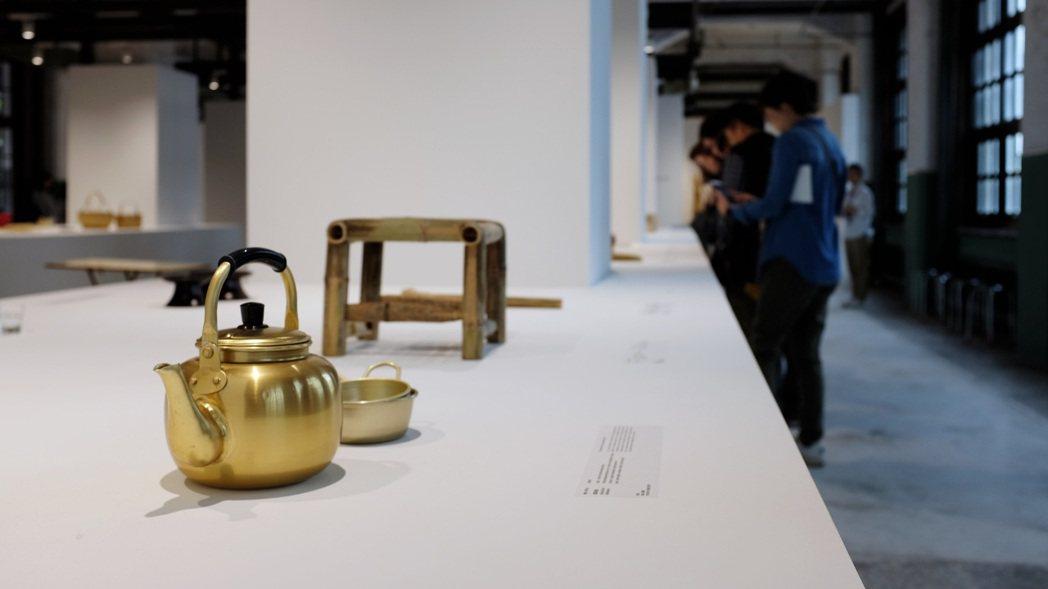 鋁製米酒壺。記者沈佩臻/攝影