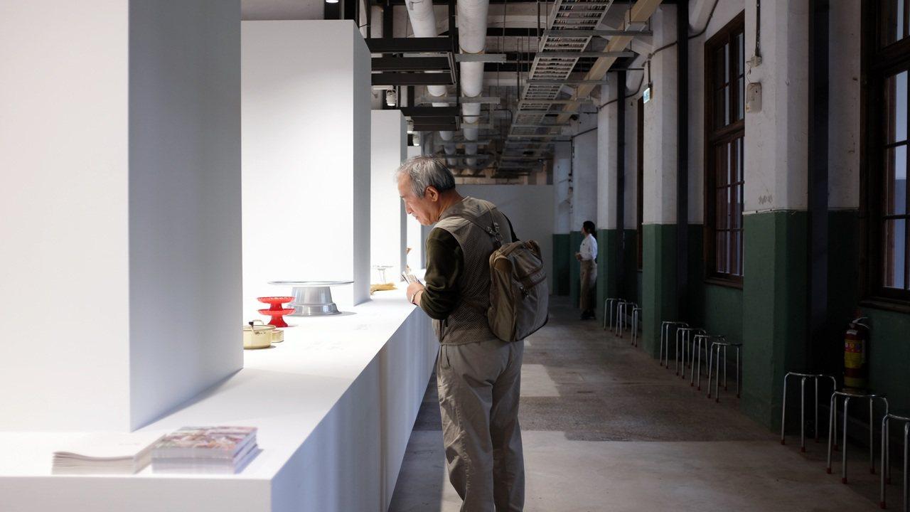 My Found MUJI East Asia於松山文創園區北向製菸工廠展出。記...