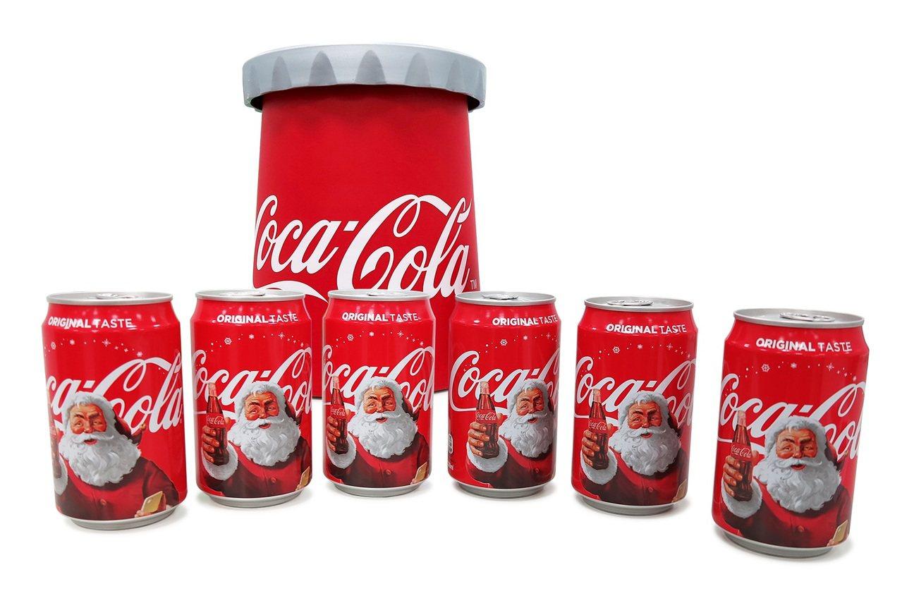 可口可樂收納禮盒組。圖/可口可樂提供