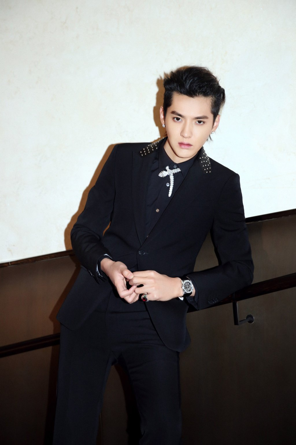 網友認為吳亦凡英文好又正當紅,適合演出花木蘭真人版男主角。圖/摘自微博