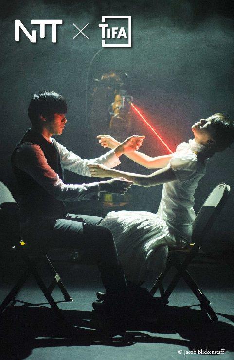 台灣編舞家黃翊作品「黃翊與庫卡」。圖/黃翊工作室提供