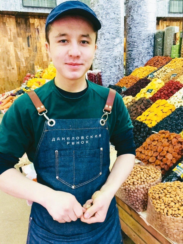 「丹尼洛夫卡市場」能買到各種俄羅斯的精緻農產品。 記者錢欽青/攝影