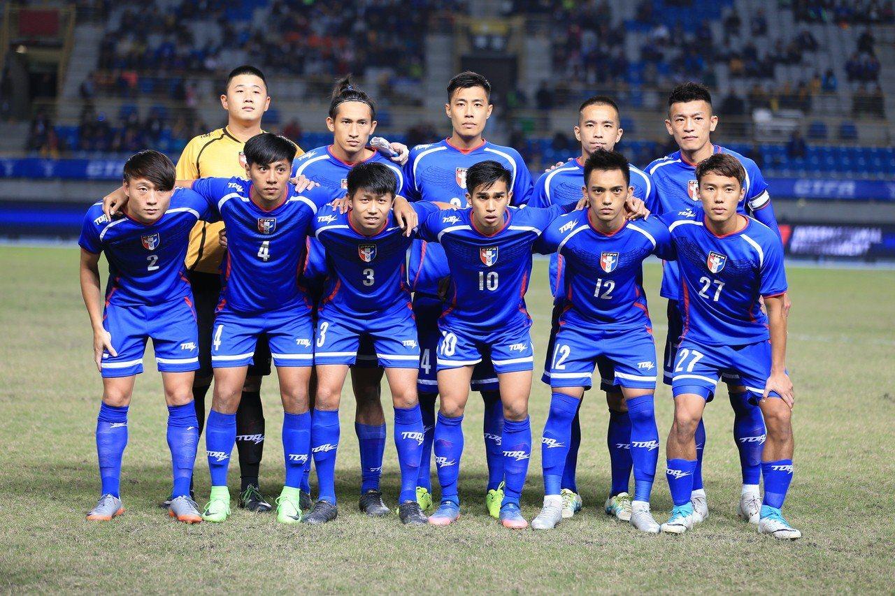 本屆亞運,中華男足以1和3負在A組墊底。 圖/中華男足提供