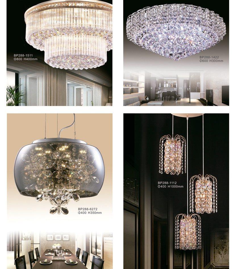 優雅華麗的各式水晶吊燈。 必登堡/提供