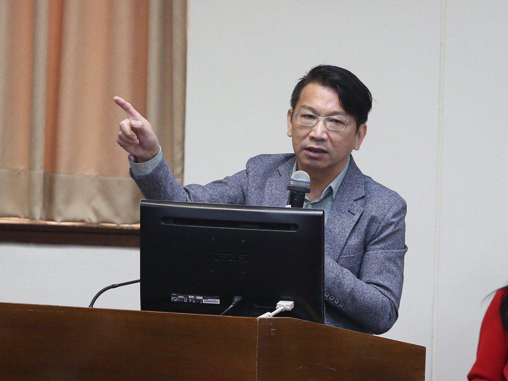 徐永明。 中央社