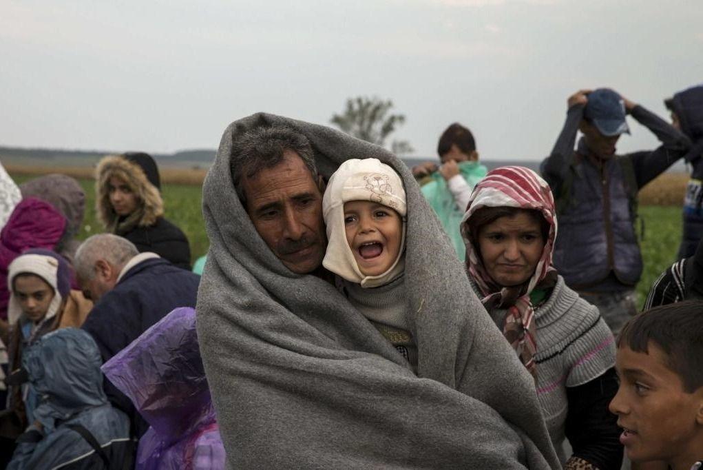 敘利亞難民潮,是繼烏克蘭事件之後,第二個引爆媒體危機的關鍵。 圖/路透社