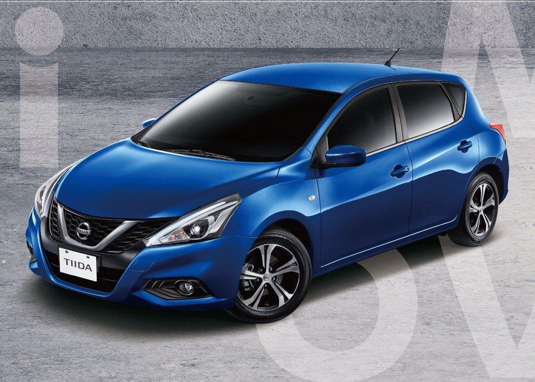 亞洲版的Tiida外觀造型有些許不同。 摘自Nissan