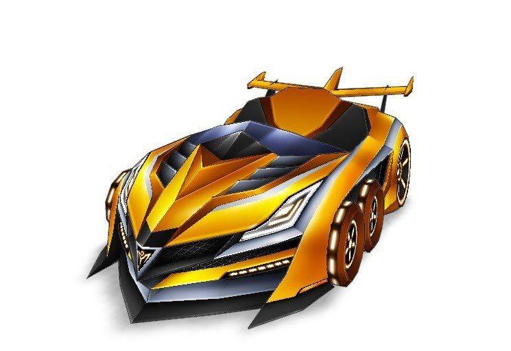 全新傳說車款「黃金魔光騎士9」,搭配華麗的黃金車身,高拖飄速度與穩定度將成為競賽...